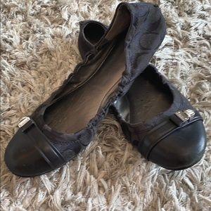 Coach ballerina flats sz 61/2